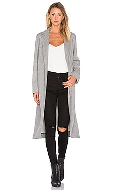 Long Jacket in Flint