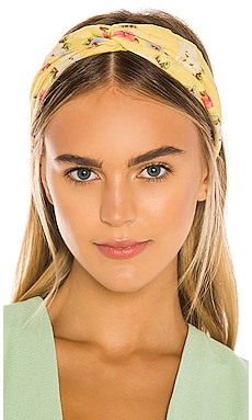 Athena Twist Headband LoveShackFancy $35
