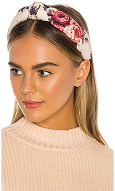 x Lele Sadoughi Ruched Headband LoveShackFancy $85