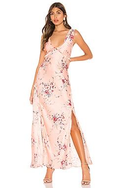 Kendall Silk Dress LoveShackFancy $342