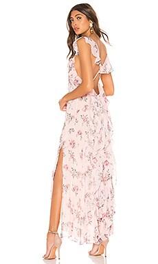 Sally Silk Dress LoveShackFancy $252