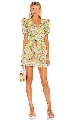 Love Shack Fancy Aldina Dress LoveShackFancy $425 NEW