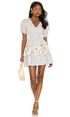 X REVOLVE Roth Dress LoveShackFancy $345 NEW