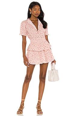 X REVOLVE Alfie Dress LoveShackFancy $375 NEW