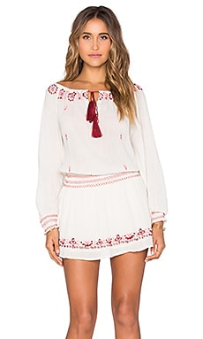 Smocked Peasant Dress