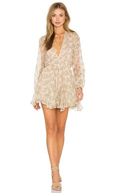 Joey Dress in Gypsy Feather Sand
