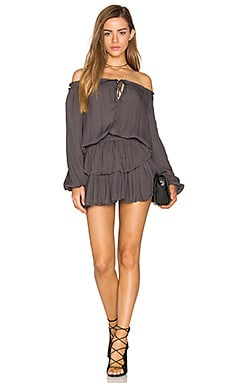 Popover Dress in Charcoal