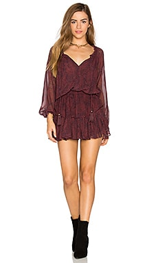 Popover Dress in Fig
