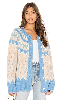 Fair Isle Cardigan LoveShackFancy $425