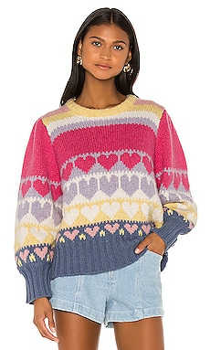 Shirelle Pullover LoveShackFancy $425 NEW ARRIVAL
