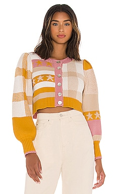 Bedford Crop Cardigan LoveShackFancy $242