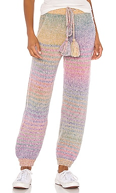 PANTALON SWEAT EN MAILLE BLOSSOM LoveShackFancy $325