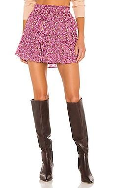 Ruffle Mini Skirt LoveShackFancy $245