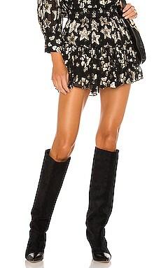 Ruffle Mini Skirt LoveShackFancy $295 BEST SELLER