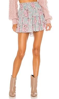 Ruffle Mini Skirt LoveShackFancy $275