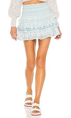 Zeta Skirt LoveShackFancy $285