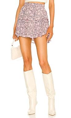 Ruffle Mini Skirt LoveShackFancy $295