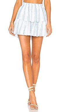 Ruffle Mini Skirt LoveShackFancy $225 BEST SELLER