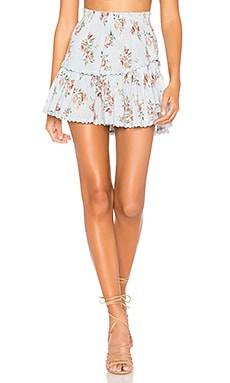 Ruffle Mini Skirt LoveShackFancy $245