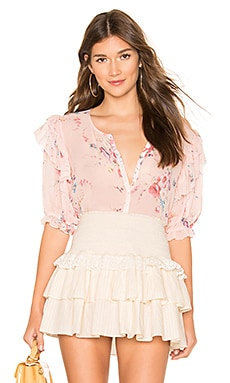 Shaye Top LoveShackFancy $244