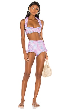 Kimberly Bikini Set LoveShackFancy $225