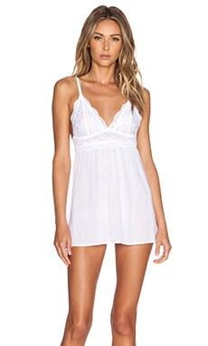 Les Coquines Emilie Chemise in Blanc