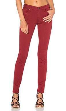 Liza 5 Pocket Skinny in Roselle