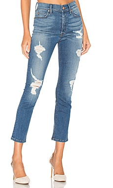 Riley High Rise Skinny en Sea Cliff