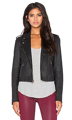 Ori Moto Jacket in Black