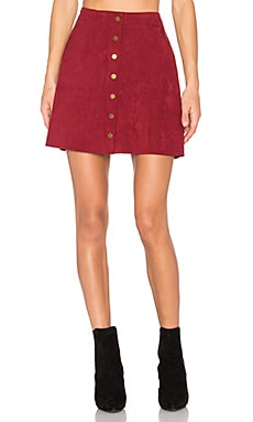 Helen A-Line Skirt in Roselle