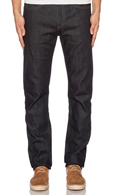 LEVI'S: Made & Crafted Tack Slim en Indigo Rigid