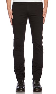 LEVI'S: Made & Crafted Needle Narrow en Noir Profond
