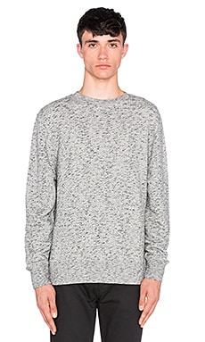 LEVI'S: Made & Crafted Crew Sweatshirt in Grey Mele