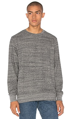 LEVI'S: Made & Crafted Crew Sweatshirt in Grey