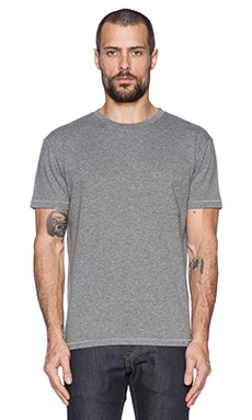 LEVI'S: Made & Crafted Classic Tee in Grey Mele