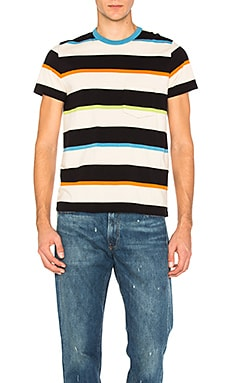 1960's Casual Stripe Tee