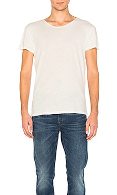LEVI'S Vintage Clothing 1930's Bay Meadows Tee in Milk White