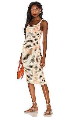 The Coralee Midi Dress lovewave $65