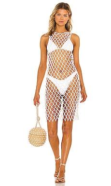 the Alisa Mini Dress lovewave $218 NEW