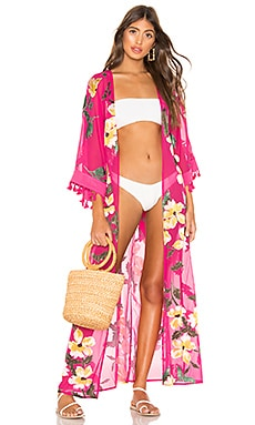 Hallie Maxi Robe lovewave $155