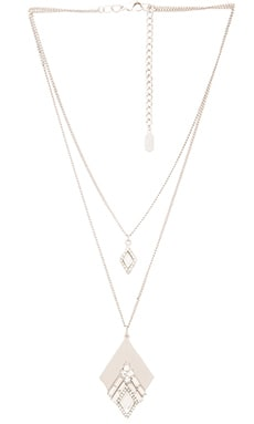 Lisa Freede Julia Necklace in Rhodium