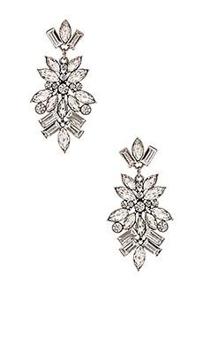 Lisa Freede Monaco Earrings in Antique Rhodium