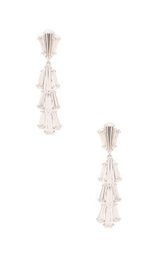 Greta Earring in Rhodium