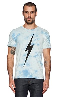 Lightning Bolt Forever TD Tee in Milky Blue