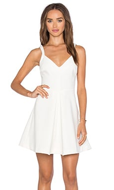 LIKELY Delancey Dress in White