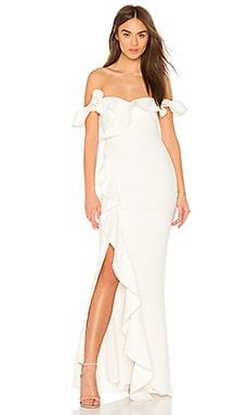 Купить Вечернее платье miller - LIKELY белого цвета