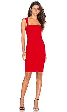 LIKELY La Brea Dress in Scarlet