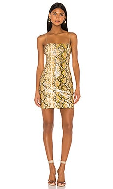 Gold Python Hayley Dress LIKELY $105