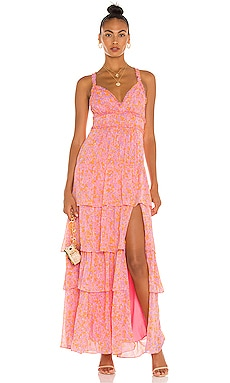 ROBE MAXI ATHENA LIKELY $298 BEST SELLER