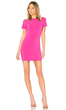 Manhattan Dress in Cerise
